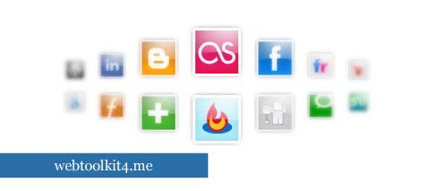 30 recopilaciones de iconos de redes sociales