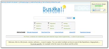 Buskka, un buscador de descargas directas