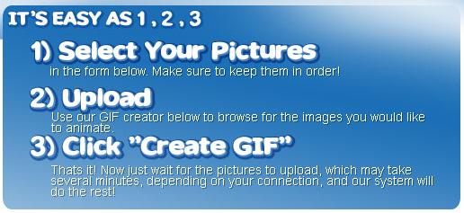 Crea tu GIF animado en tres pasos con Make a GIF