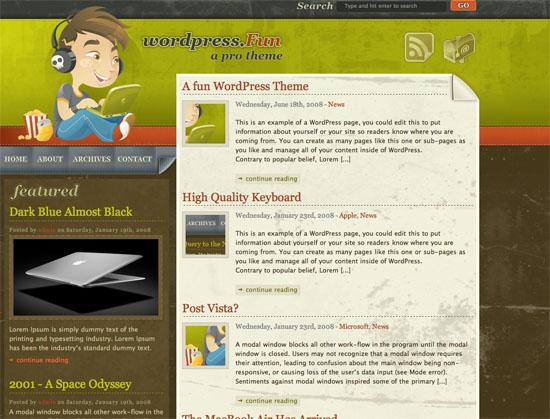 50 temas gratuitos para WordPress