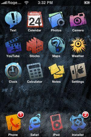 Crea tus propios temas para iPhone con iPhone Theme Generator