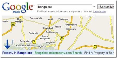 AdSense presente en Google Maps