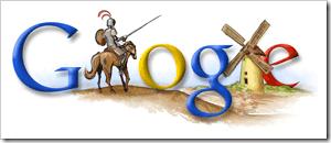 Google recuerda el nacimiento de Cervantes