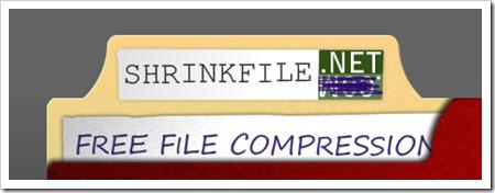 Comprime archivos online gracias a ShrinkFile