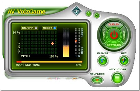 Modifica tu voz en tiempo real con AV VoizGame