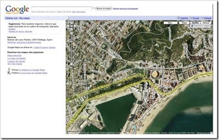 Google modifica Google Maps, e integra Google Bookmarks en Google Notebook