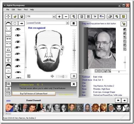 Digital Physiognomy, un reconocedor facial como el de las películas