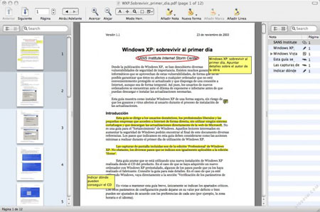 Subraya, tacha y destaca conceptos de documentos PFD con Skim