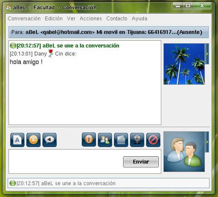 Información sobre la próxima versión del famoso mensajero de Linux, aMSN2