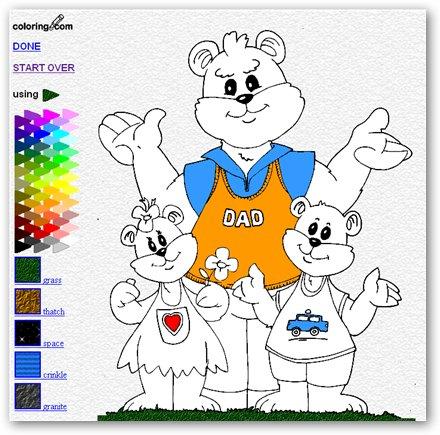 Coloring, un sitio infantil para colorear