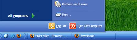 Elimina el botón inicio de tu barra de tareas