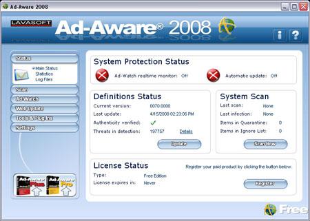Ad-Aware 2008 7.1.08 ha sido lanzado
