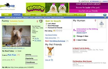 Petpop, red social enfocada a los amantes de los animales
