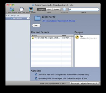 Jake - Comparte archivos de forma colaborativa