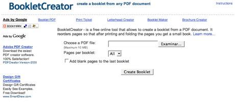 BookletCreator, crea libros planos a través de archivos PDF