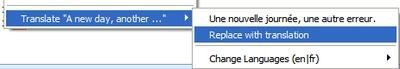 Añade traducción instantánea a Firefox