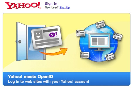 Yahoo implementa totalmente OpenID