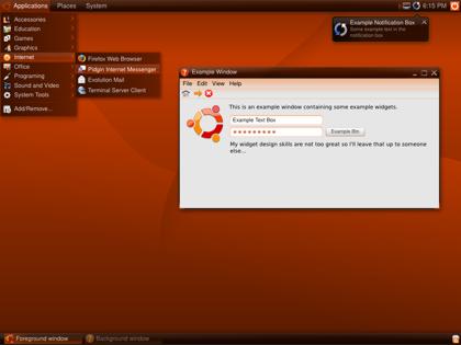 Otra alternativa al diseño de Ubuntu 8.04