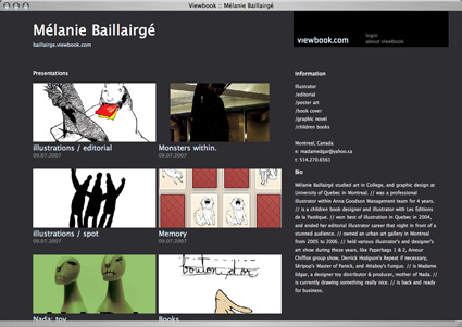 Viewbook, portafolios profesionales online