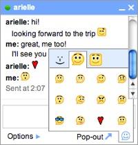 Google Chat añade emoticonos de calidad y de salas de chat