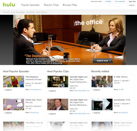 Probamos Hulu en beta privada