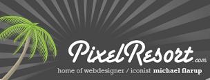 PixelResort, iconos y fondos de pantalla de buena calidad