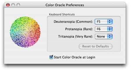Diseño por y para daltónicos, Color Oracle