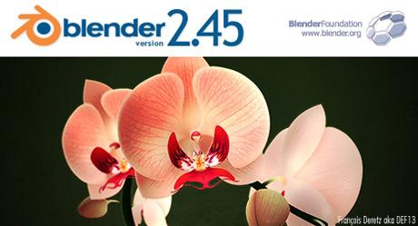 Blender 2.45 se lanza oficialmente