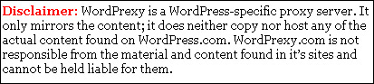 Efecto espejo con todos los blogs de Wordpress para desinhibir la censura en Turquía