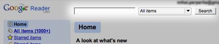 Google Reader añade un buscador