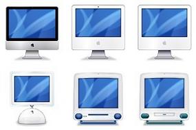 6 iconos inspirados en la evolución del iMac