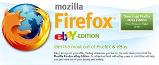 Firefox eBay, edición especial