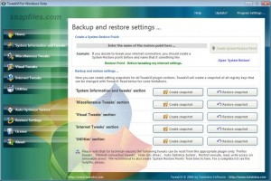 TweakVI Basic, optimiza aspectos desconocidos de Windows Vista