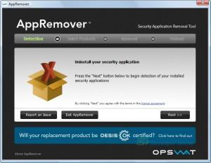 AppRemover, desinstala programas de seguridad sin dejar ningún rastro