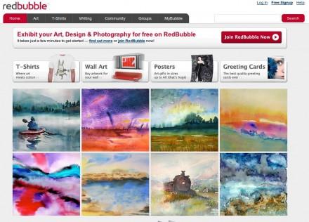 RedBubble.com - Compra y venta de obras de arte en Internet