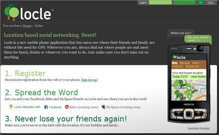 Locle - Identificando localización física por el móvil