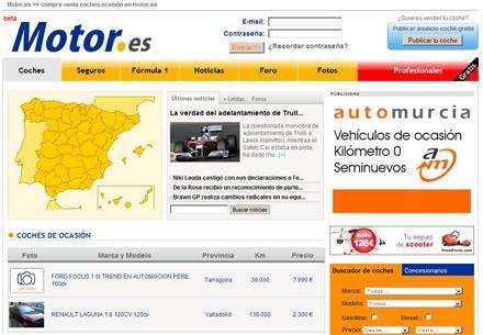 Motor.es - Compra y venta de coches de ocasión