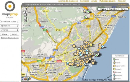 mapiprop.com - buscador inmobiliario en Internet