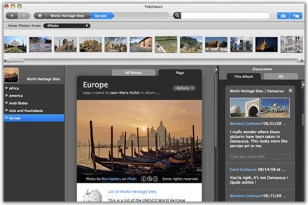 Fotonauts - Gestión de álbumes fotográficos online