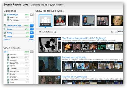 VideoSurf - Nuevo buscador de vídeos