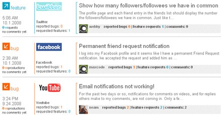 UserFix - Informa las funcionalidades que te gustaría tener en tus sites preferidos