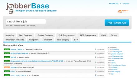 jobberBase - Crea tu propia comunidad de búsqueda de empleo