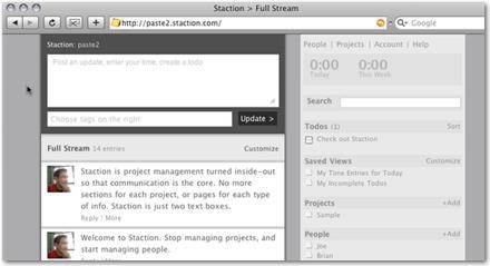 Staction - Coordinar grupos de trabajo