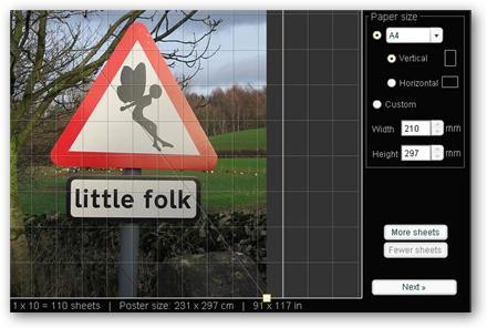 Rasterbator - Transformar pequeñas imágenes en gigantescos pósters