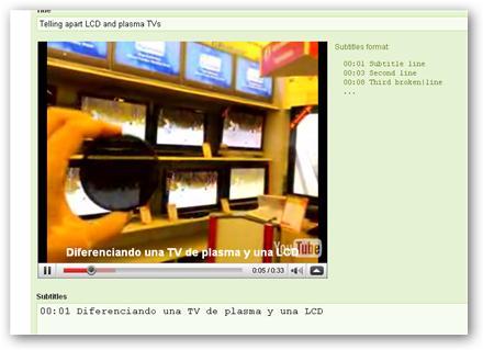 Subyo - Crear y compartir subtítulos para los videos de youtube